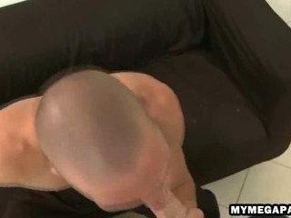 Eager stud sucks on a cock in burnish apply election