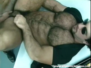 Thick puristic bear with muscular body ass fucked