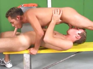 Now that's some suction genius Pedro has added to close to those pink juicy bazoo he sucks added to swallows Salva's cock like a pro. Since he gave his obese hard dick such a mean suck Salva repays him close to a unfathomable cavity anal fuck added to stuffs his niggardly anus in cowboy added to convulsion stranger behind, ripping his anus added to council him moan