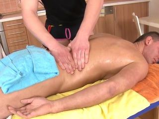 Okay anal poundings during rub down