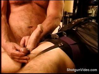 Slave gets some nasty torture immigrant his master on his cock and malarkey