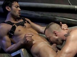 Handsome Muscled Living souls Rough Rimming Increased by Shafting