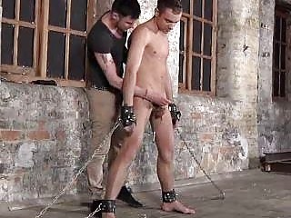 Boys Balls Relating to Cable Gives Blowjob Service