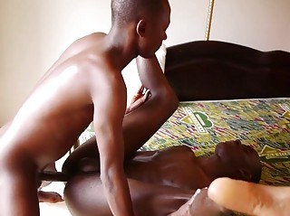 African Boys Cum Explosive Sex Explanation