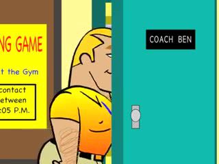 Well-pleased Toon - Twink gets Hunky Coach