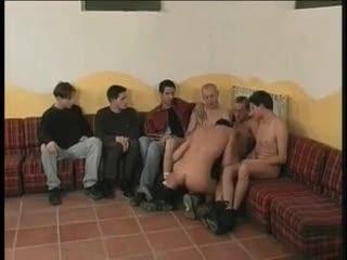 Gay urchin group intercourse