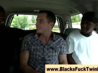 Interracial sulky and light-skinned fuck session gets occuring