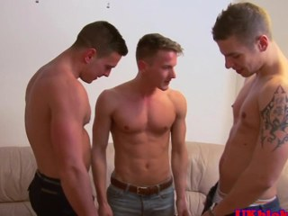 British unconcerned jock threeway fecund in ending