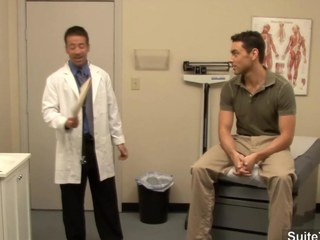 Salacious bastardize gets nailed by his gay patient at work