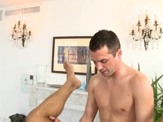 Cube gets lusty anal drilling during rub-down